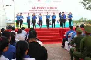 Hơn 1.000 đoàn viên, thanh niên Cần Thơ tham gia lễ phát động năm ATGT 2019