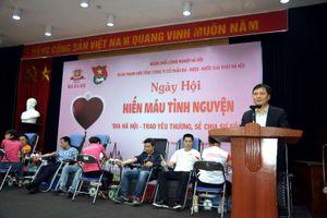 Tuổi trẻ HABECO với phong trào hiến máu tình nguyện