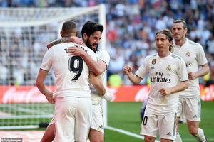 Real Madrid 2-0 Celta Vigo: Quà mừng Zinedine Zidane trở lại