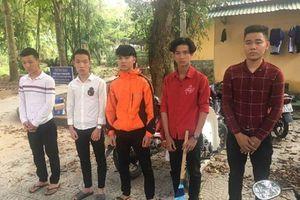 Xác định nhóm côn đồ dọa chém lái xe tải trong hầm BOT ở Huế