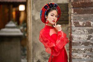 Sau đăng quang,Hoa hậu Tuyết Nga khoe vóc dáng vạn người mê với áo dài