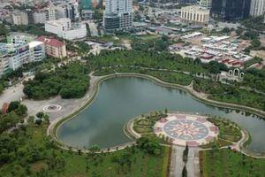 Hoài nghi năng lực của DN đề xuất 'xén' đất công viên làm bãi đỗ xe, trung tâm thương mại