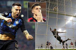 AC Milan - Inter Milan 2-3: Vecino, De Vrij, Lautaro Martinez giành chiến thắng kịch tính