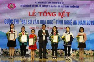 Nghệ An: 24 học sinh đạt giải cuộc thi 'Đại sứ văn hóa đọc'