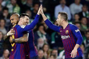 Khoảnh khắc tỏa sáng của Messi tại Villamarin