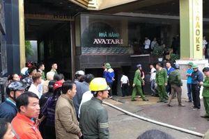 Nghệ An: Nữ nhân viên giặt là tử vong trong vụ cháy lớn ở khách sạn, quán bar Avatar