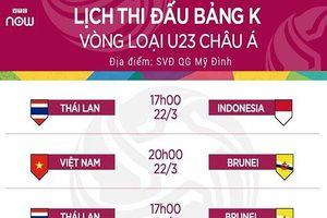 Vòng loại U23 Châu Á: U23 Thái Lan muốn 'hạ nhục' U23 Việt Nam ngay tại Mỹ Đình