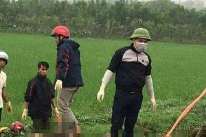 Hai vợ chồng tử vong dưới mương nước ở Thái Bình: Người vợ đang mang bầu