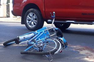 Một học sinh bị tai nạn tử vong trước cổng trường