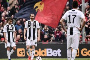Không CR7, Juventus nếm trái đắng đầu tiên ở Serie A