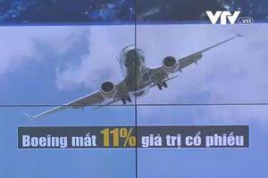 Sau tai nạn 737 MAX: Boeing mất 11% giá trị cổ phiếu