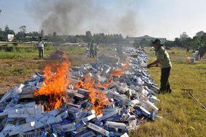 Hai phương án gỡ vướng trong xử lý thuốc lá ngoại nhập lậu bị tịch thu