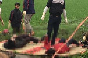 Vụ vợ chồng tử vong dưới mương ở Thái Bình: Người vợ đang mang thai