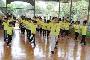 Khai giảng lớp khí công miễn phí cho trẻ em có hoàn cảnh đặc biệt