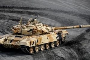 Nga bất ngờ tuyên bố sắp trình làng tăng T-90MS không người lái