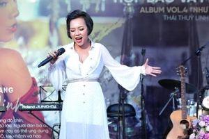 Ca sĩ Thái Thùy Linh: 'Hạnh phúc của tôi không tròn trịa'