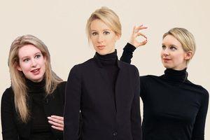 Elizabeth Holmes - tỷ phú lừa đảo với gu thời trang giống Steve Jobs