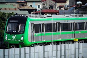 Tuyến đường sắt Cát Linh - Hà Đông chưa thể vận hành vào tháng 4