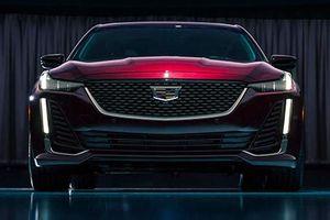 Cadillac 'nhá hàng' sedan hạng sang CT5 hoàn toàn mới