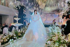 Choáng ngợp trước đám cưới cổ tích của Rich Kid Trinh Hoàng