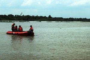 Chìm tàu nạo vét trên sông Gò Gia, 1 người mất tích