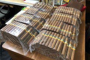 Thu giữ hơn 1.000 điếu xì gà nhập lậu qua đường hàng không