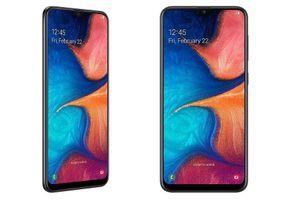 Samsung Galaxy A20 ra mắt: Màn hình giọt nước, pin 4.000mAh, giá từ 215 USD