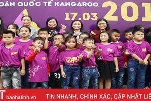 Học sinh Hà Tĩnh trải nghiệm lý thú tại Kỳ thi Toán quốc tế Kangaroo 2019