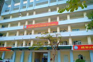 Thái Bình: Cảnh cáo, điều chuyển công tác thầy giáo 'gạ tình' nữ sinh lớp 10