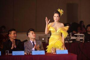 Hoa hậu Lê Đỗ Minh Thảo rạng rỡ trên ghế giám khảo Ms Universe Business 2019