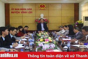 Phó Chủ tịch Ủy ban Trung ương MTTQ Việt Nam kiểm tra công tác tổ chức Đại hội MTTQ các cấp tại huyện Vĩnh Lộc