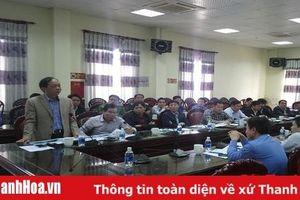 Khẩn trương thực hiện Dự án Khu di tích lịch sử trận địa Đông Ngàn và Tượng đài Trung đội dân quân gái xã Hoa Lộc