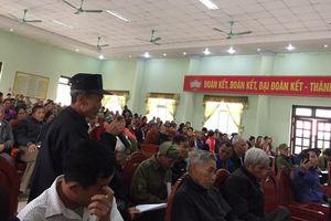 Vĩnh Phúc: Lãnh đạo huyện Vĩnh Tường đối thoại, giải quyết những thắc mắc về dồn thửa đổi ruộng ở Phú Đa
