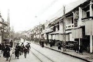 Hà thành kim cổ ký: Quảng cáo ở phố Hàng Ngang một thời