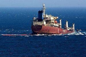 Iran: Tàu chở hàng nước ngoài bị chìm