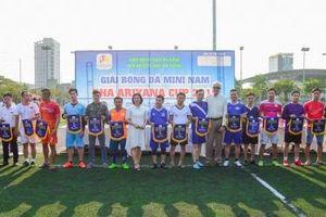 Hội Khách Sạn Đà Nẵng khai mạc giải Bóng đá MINI DHA ARIYANA 2019