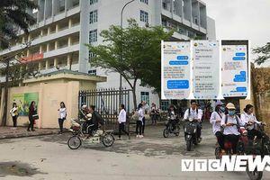 Nhắn tin 'gạ tình' nữ sinh, thầy giáo ở Thái Bình bị cảnh cáo, điều chuyển công tác