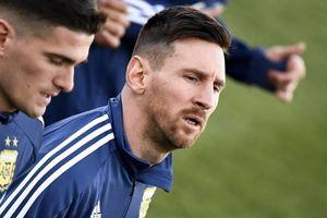 'Messi trở lại là vinh dự của tuyển Argentina'