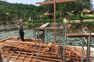 Quảng Nam: Tiến hành tháo dỡ các hạng mục xây dựng trái phép giữa rừng phòng hộ