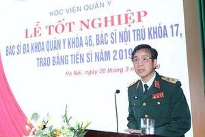 Học viện Quân y trao bằng tốt nghiệp cho hơn 300 tân tiến sĩ, bác sĩ nội trú, bác sĩ đa khoa, dược sĩ