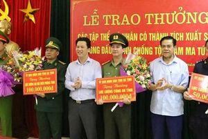 Công an tỉnh Hà Tĩnh, Nghệ An: Tạo dấu ấn đậm nét trong đợt cao điểm tấn công trấn áp tội phạm