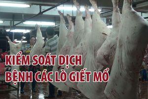 Long An tăng cường kiểm soát dịch bệnh tại các lò giết mổ