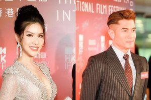 'Hoa hậu hàng không' Loan Vương nóng bỏng trên thảm đỏ 'LHP Quốc tế Hồng Kông'