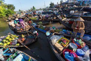 Chợ nổi Cần Thơ lọt top chợ nổi hấp dẫn nhất châu Á