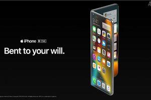 Lộ diện iPhone màn hình gập với thiết kế đẹp khó cưỡng
