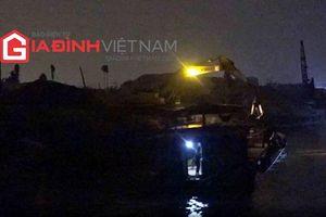 'Cát tặc' lại nóng trên địa bàn Hà Nội