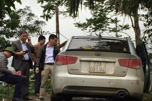 Vụ nổ súng nghi cướp taxi ở Tuyên Quang: Nghi phạm cũng là tài xế xe taxi