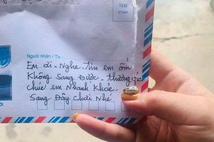 Nghe tin bạn thân bị ốm, cụ bà 90 tuổi viết thư động viên mùi mẫn khiến ai cũng xuýt xoa cảm động