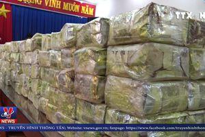 Bắt giữ 300kg ma túy từ đường dây mua bán xuyên quốc gia
