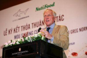 NutiFood hợp tác huyền thoại Golf Greg Norman đưa cà phê Việt ra thế giới